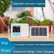 20 м двойной насос умный сад автоматическое устройство орошения солнечной энергии ChargingPotted завод капельного орошения Таймер системы