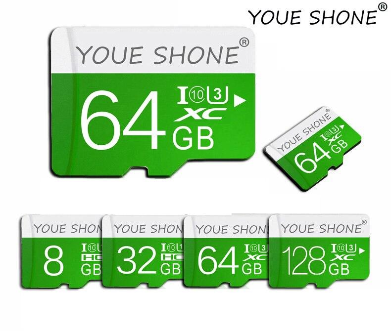 100% Real Capacity Micro SD Card 4GB 8GB 16GB 32GB 64GB 128GB High Speed Class 10 Mini SD Card Memory SD Card Flash TF Cards