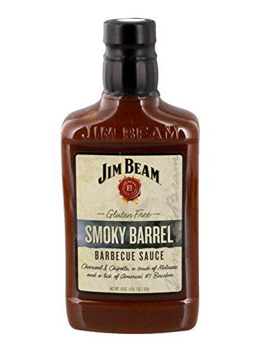 Jim Beam Smoky Barrel BBQ Sauce 510 G