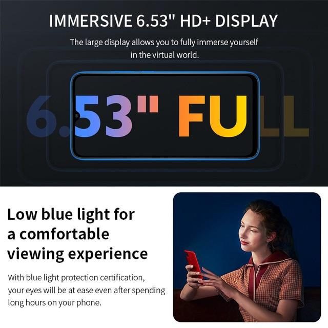 "Xiaomi Redmi 9C Global Version Xiaomi SmartPhone 13MP Rear Camera MTK Helio G35 6.53"" Large Display 5000mAh 3"