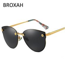 """Модные солнцезащитные очки """"кошачий глаз"""", женские поляризованные солнцезащитные очки,, брендовые очки для вождения, для девушек, оттенки, UV400, Lunette Soleil Femme"""