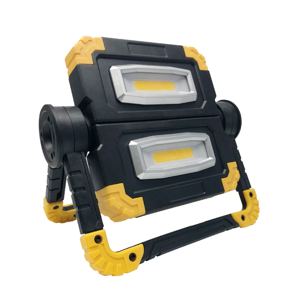 COB Work Lamp LED Portable 360° Rotate Waterproof  Emergency Portable Spotlight Rechargeable Floodlight  Camping Light