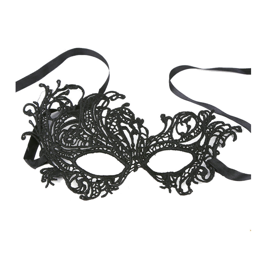 Sexy Elegant Eye Face Mask Masquerade Ball Carnival Fancy Party Black L0110