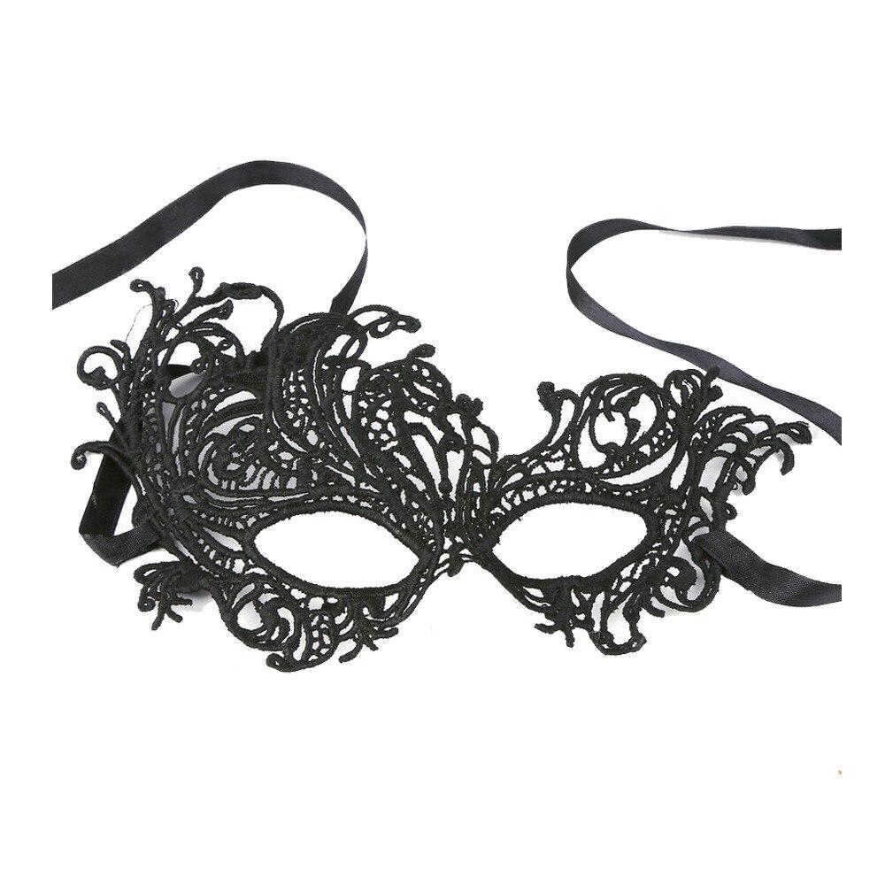 Sexy Elegant Eye Face Mask Masquerade Ball Carnival Fancy Party Black L0110