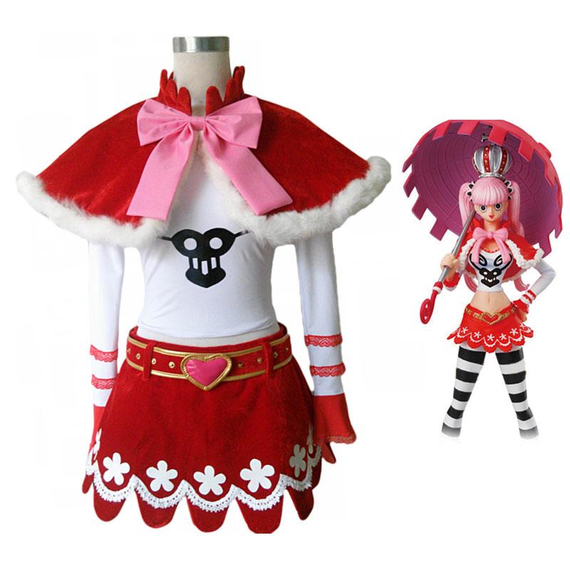 Anime One Piece Perona Cosplay Costum custom-made