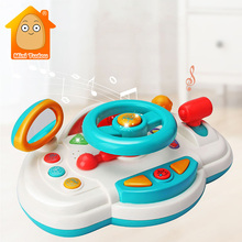 Education-Toys Game Musical-Instruments Play Steering-Wheel Baby Eletronic Cartoon