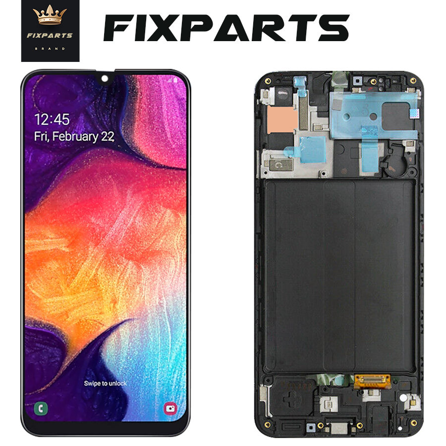 For SAMSUNG GALAXY A10 A105 A20 A205 A30 A305 A40 A405 A50 A505 A60 A606 A70 A80 A10 M10 M20 LCD Display Touch Screen With Frame