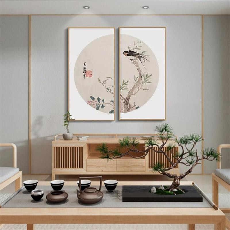 Плакат в китайском стиле