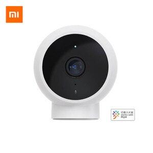 Image 1 - Xiaomi Mijia 스마트 카메라 170 학위 광각 소형 카메라 HD 1080p IP65 방수 적외선 야간 Mijia