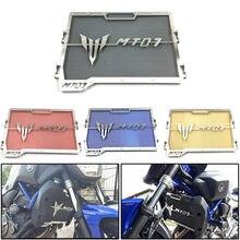 Radiador da motocicleta Capa Protetora Guarda Grill Grille Protector Para Yamaha MT-07 MT07 FZ-07 FZ07 2014 2015 2016 2017 2018 2019