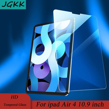 Screen-Protector Protective-Film Tablet Tempered-Glass Apple iPad for Air-4 JGKK Full-Cover
