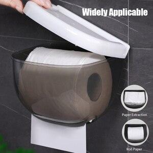 Image 5 - Wall Mounted Tissue Box Holder Toilet Paper Holder Bathroom Tissue Dispenser Kitchen Paper Holder Kitchen Paper Towel Dispenser