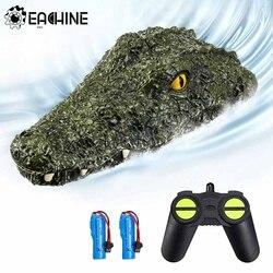 Eachine EB01 Rc Boot Afstandsbediening Boot 2.4G Elektrische Model Simulatie Krokodil Hoofd Voertuigen Prank Voor Kinderen En Volwassenen speelgoed