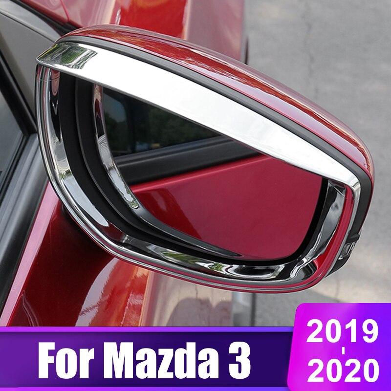 Купить для mazda 3 alexa 2019 2020 автомобильная наклейка на зеркало
