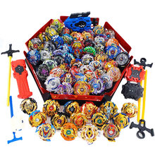 Tops set Launchers Beyblade Arena Spinning Top Metal Fight Bey blade Metal Burst Bayblade Stadium Children Gifts Classic Toy(China)