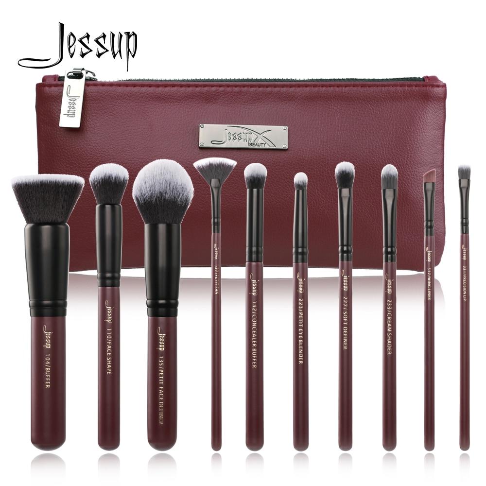 Jessup 10pcs Makeup Brushes…