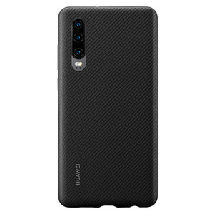Image 3 - Huawei P30 Case From Huawei Official Original Leather Protecive Cover Carbon / Canvas Fiber Business Style Huawei P30 case
