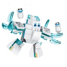 Princess Anna Elsa Snow Queen Elsas Snowman Unikitty Angry Astro Queasy Biznis Building Blocks Children Toys