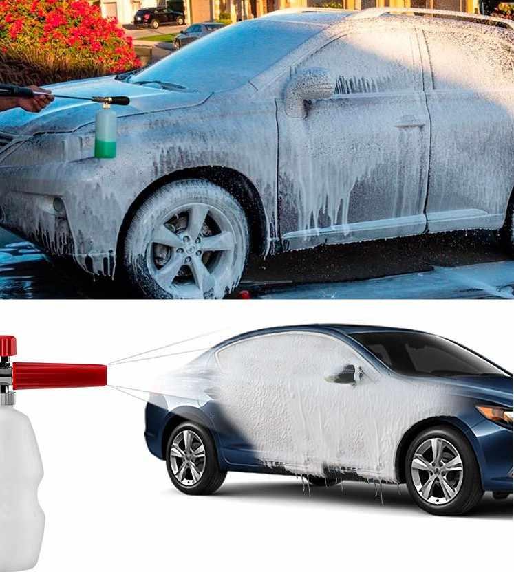 Wasstraat Sneeuw Foam Lance Foam Cannon Gun Tornado Schuim Generator voor Hogedrukreiniger Auto Wasmachine Machine