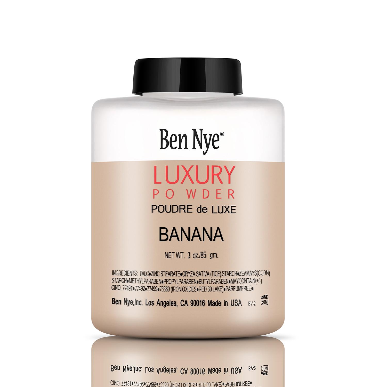 Trendy Products Luxury Banana Powder Bottle Face Makeup Powders Women Lady Facial Contour Brighten Setting Powder