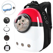 Cat Backpack Cat Carriers Fat Cat Bag Breathable Transport Travel Bags Dog Space Capsule Pet Capsule Astronaut Backpack For Pets