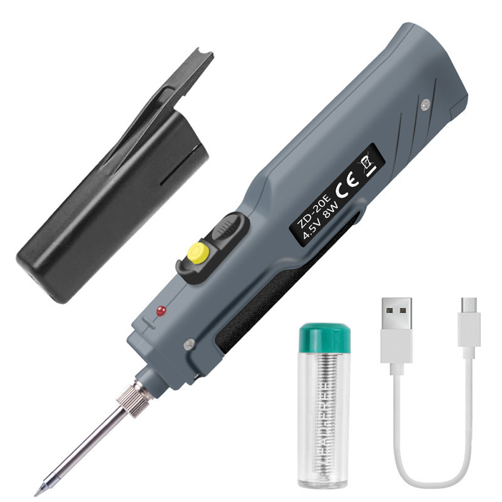 Mini Handskit 4.5V 8W Battery Powered Soldering Iron With USB Charge Wire Wireless Charging Solder Irons