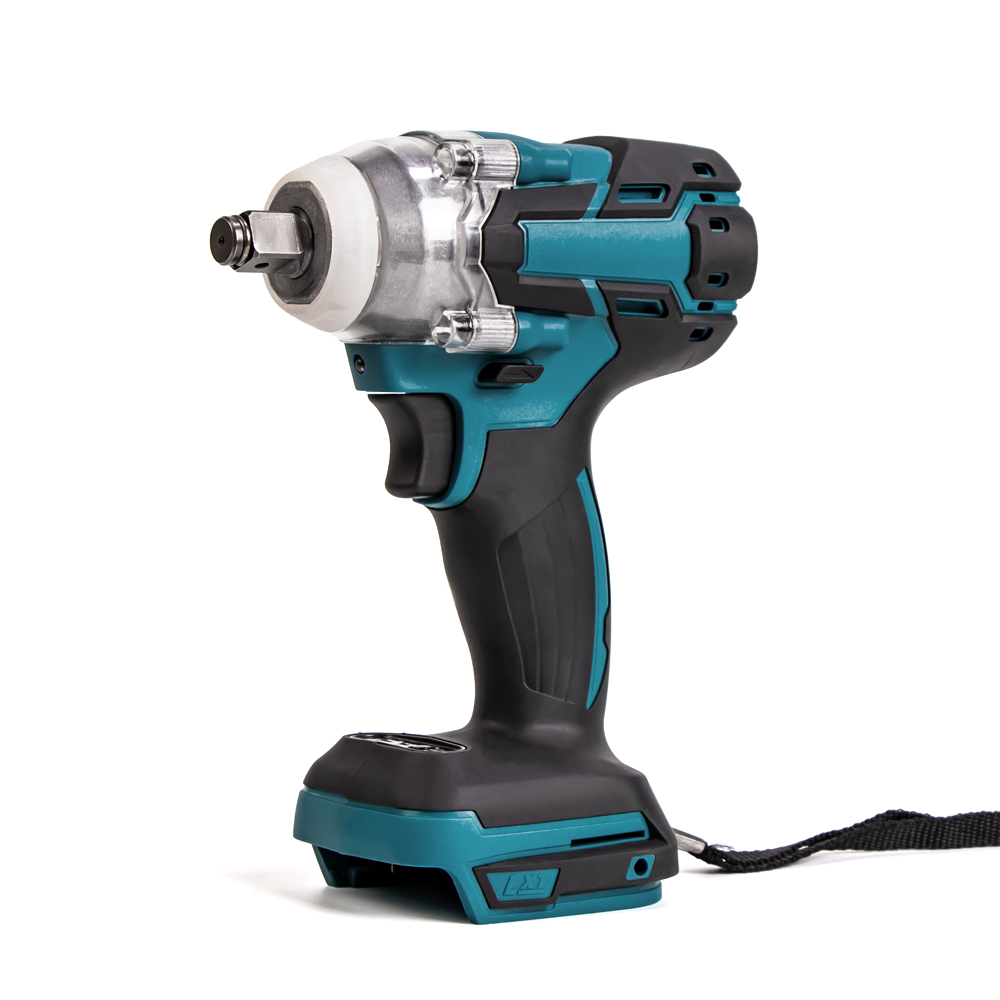 home improvement : Brushless Electric Impact Wrench 1 2 Socket Wrench Cordless 18V-68V Without Battery For Makita 18V Rechargeable Battery DTW285Z