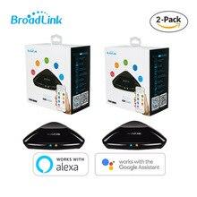 Thông Minh Broadlink RM Pro + 2019 Universele Intelligente Afstandsbediening Slimme Domotica Wifi + IR + RF Schakelaar Voor IOS Android Điện Thoại