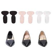 Insertos de cojín de talón, almohadillas de Gel de zapato suave para zapatos demasiado grandes Grips Liners, protectores de blíster para hombres mujeres