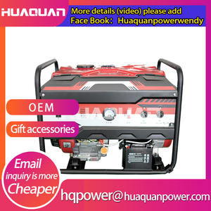 italy quality fuel less genset 8000w gasoline generator 220v from China