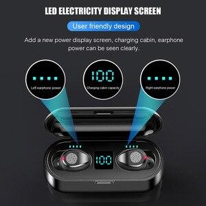 Image 2 - Cuffie senza fili Bluetooth 5.0 Auricolare TWS HIFI Mini In ear Sport Auricolari Impermeabili Auricolare per iOS/Android Telefoni chiamata HD