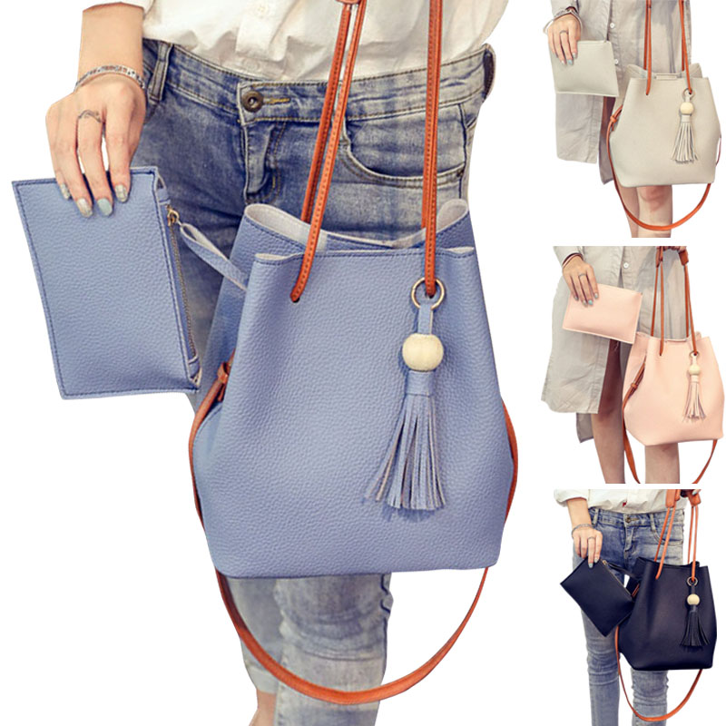 Women Shoulder Bag With Handbag Set Tote Messenger Satchel Crossbody Bags SER88