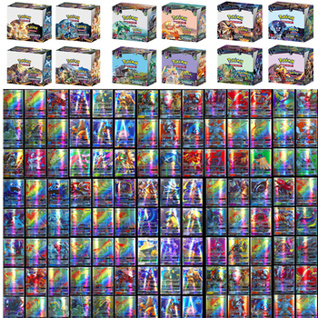 Pokemons Card Toy GX No Repeat Shining French English Cards Game Battle Carte Trading Children Sun & Moon Toys