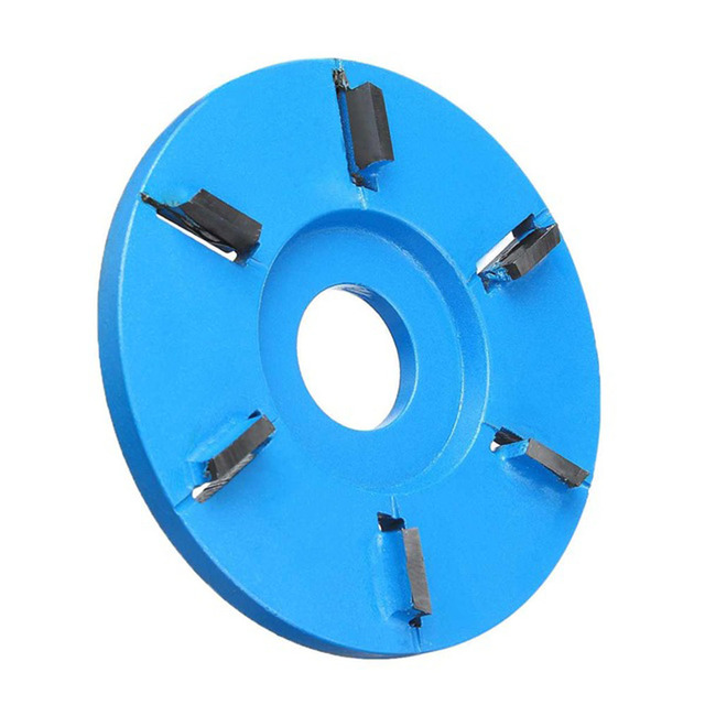 1pc Milling Cutter 90mm H22 For 22mm Grinder Six Teeth Plane Surface Disc Tool