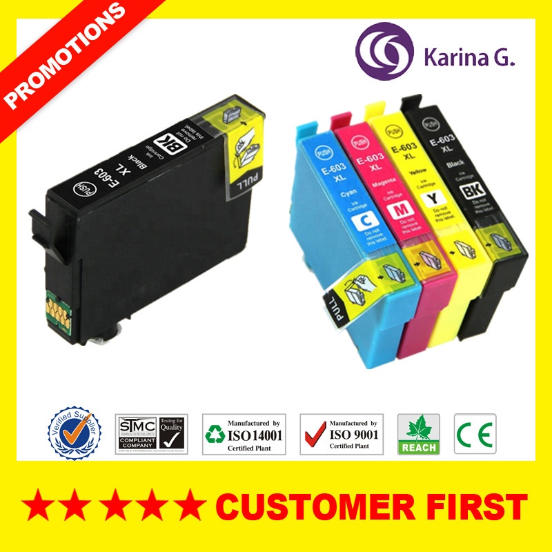 603XL Compatible For T603XL C13T03A14010 T603 Ink Cartridge Suit For Epson XP-2100 XP-2105 XP-3100 XP-3105 XP-4100 XP-4105 Etc.