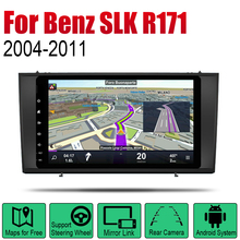 цена на Auto Player GPS Navigation For Mercedes Benz SLK Class R171 2004~2011 NTG Car Android Multimedia System Screen Radio Stereo