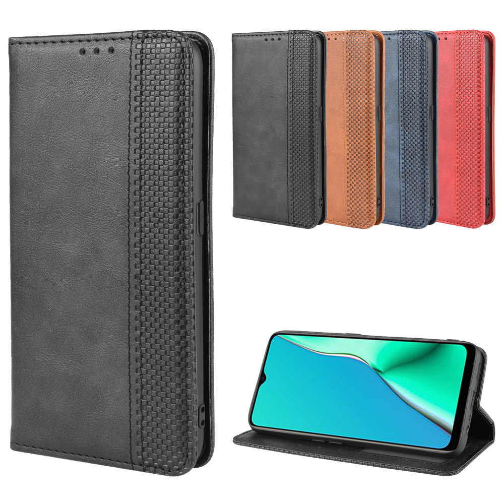 <font><b>Oppo</b></font> <font><b>A5</b></font> <font><b>2020</b></font> <font><b>Case</b></font> <font><b>Oppo</b></font> <font><b>A5</b></font> <font><b>2020</b></font> Wallet Flip Style Leather Skin Phone Back Cover For <font><b>Oppo</b></font> <font><b>A5</b></font> <font><b>2020</b></font> CPH1931 CPH1959 with Photo frame image