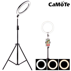 Ring flash for phone smartphone Product photograph beauty holder stand Tripod Flash light mobile phone 8-10inch Makeup Ring Ligh