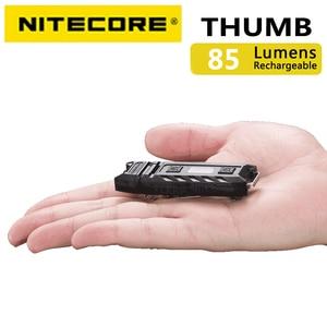 Image 3 - 100% מקורי במפעל מחיר Nitecore אגודל 120 מעלות Tiltable USB נטענת Worklight