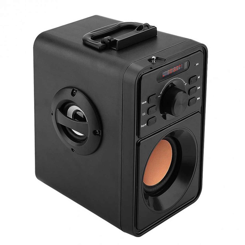 Abuzhen 3000mAh 2.1Stereo Bluetooth głośnik niskotonowy przenośny bezprzewodowy TF FM USB głośnik Stereo ciężki bas zestaw głośnomówiący do telefonu
