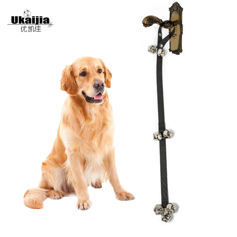 Manufacturers Hot Sales Amazon Pet Doorbell Lanyard Dog Training Dog Nursing Alert Bell Lanyard Guide Dog Doorbell
