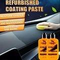 120 мл покрытие для ремонта салона крем кожа приборная панель пыль остекление обслуживание воск для обслуживания салона автомобиля столовый...