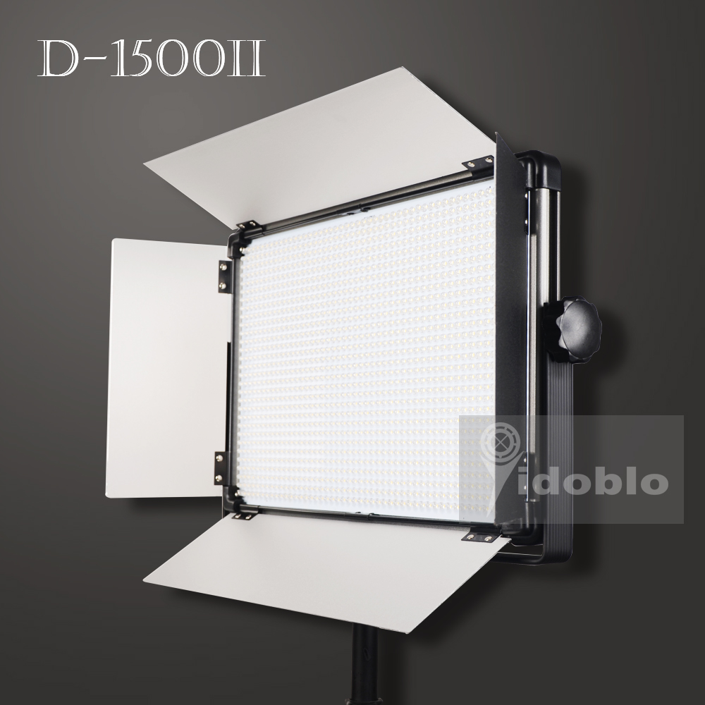 120W <font><b>Led</b></font> Video Licht Yidoblo D-1500II <font><b>Led</b></font> Panel Für Video Schießen 3200K 5500K <font><b>Led</b></font> Studio Licht <font><b>Led</b></font> <font><b>lampe</b></font> Für Foto Schießen Youtube image
