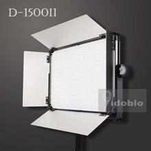 Yidoblo Panel de luces LED D 1500II para grabar vídeos, juego de luz para estudio de potencia de 120W, 3200K 5500K, ideal para sesiones de fotos y Youtube