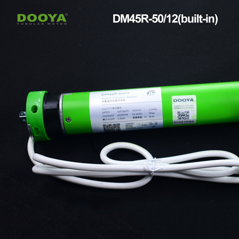 Dooya 45 Built-in Tubular Motor Suitable For Smart Home System For Roller Blinds Zebra Shades DM45R-50N