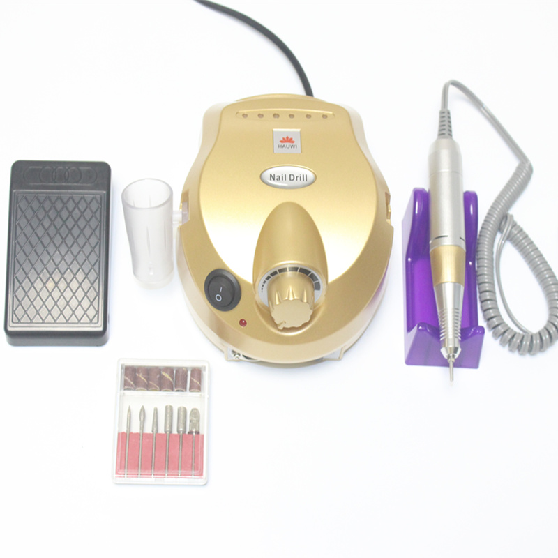 35000 Speed Professional Electric Nail Drill Electric Nail Machine Drill Auxiliary Pedicure Tool Set Nail File Bit Tool Nail