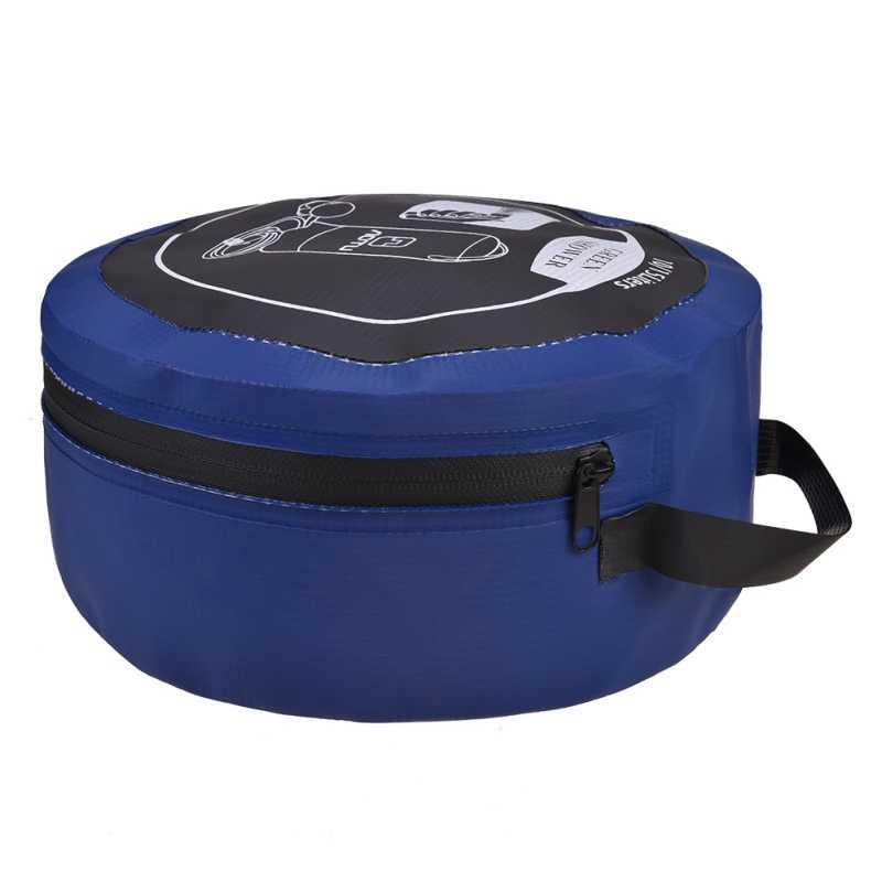 Открытый походный складной напорный душ сумка для воды портативный надувной душ с ножной насос для кемпинга путешествия Скалолазание Туризм