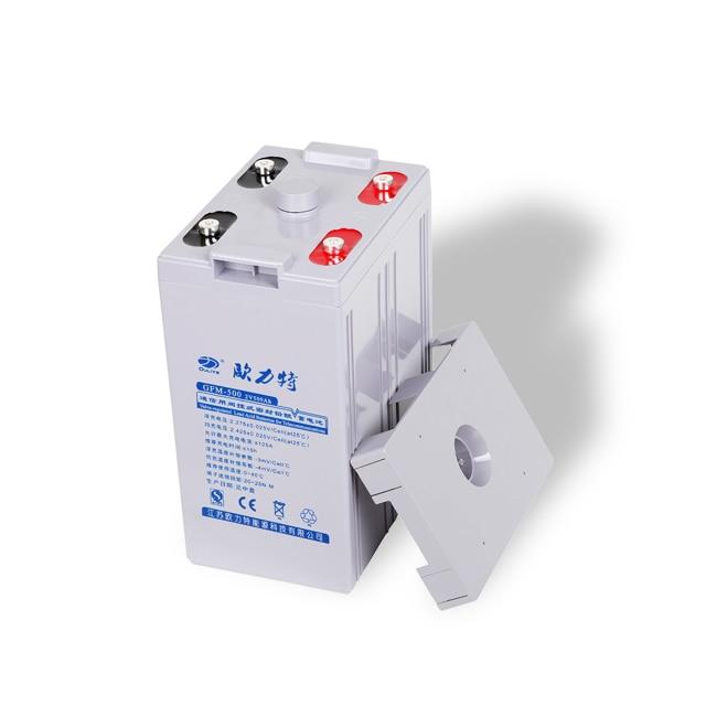 Maintenance Free Lead Acid Battery 2v 500ah Battery Gel For Solar Power Usage