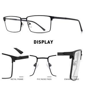 Image 2 - MERRYS עיצוב גברים יוקרה טיטניום סגסוגת אופטיקה משקפיים זכר Ultralight עין קוצר ראייה רוחק מרשם משקפיים S2063