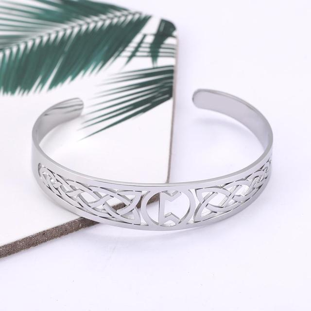 Bracelet Celtic symbole acier inoxydable 4